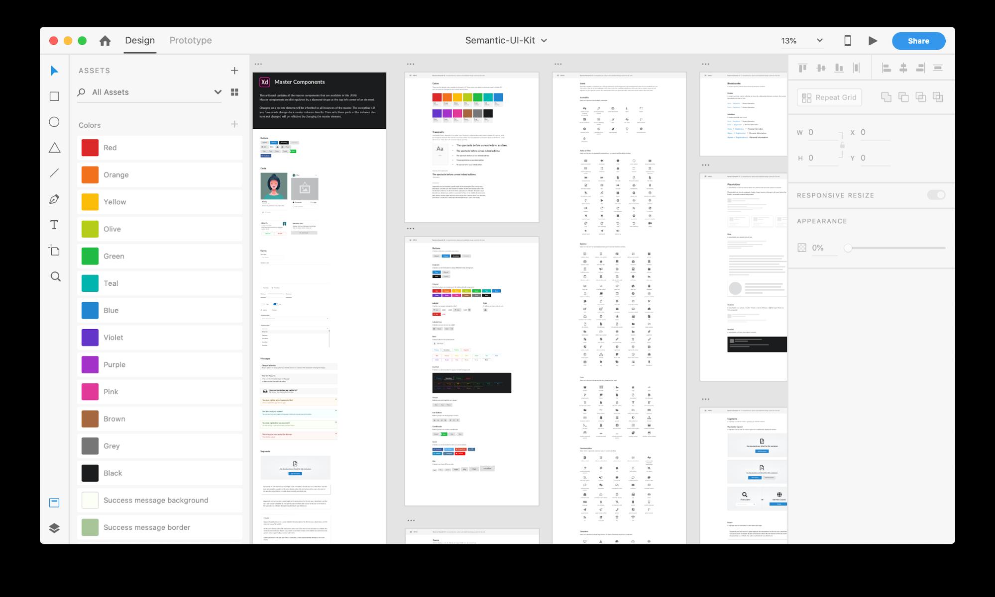 Semantic UI Kit